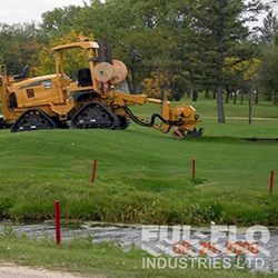 Glendale Golf Dozer with working